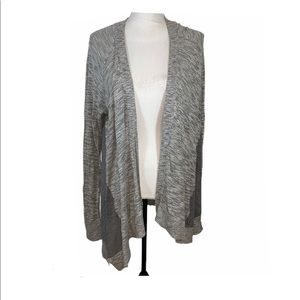 Lane Bryant Gray Open Cardigan Women's Plus 18/20